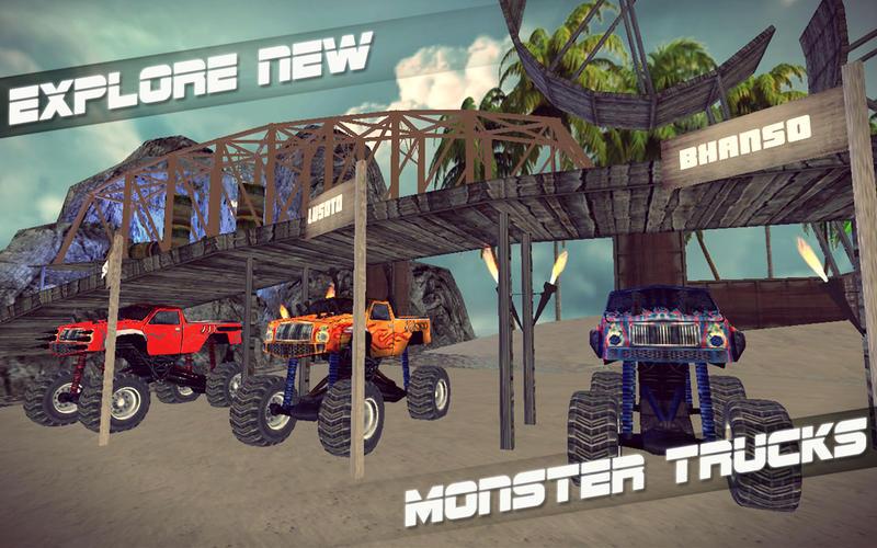 Monster Truck Stunt Madness Screenshot - 3