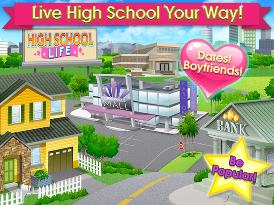 Игра High School Life - Flirt, Dress Up, Date & Dance