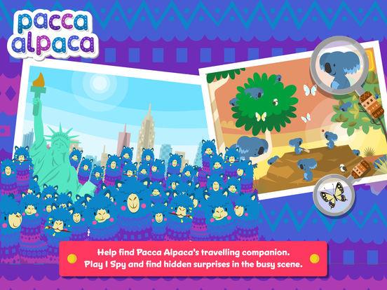 Pacca Alpaca - Travel Playtime: fun activities for kids Screenshots