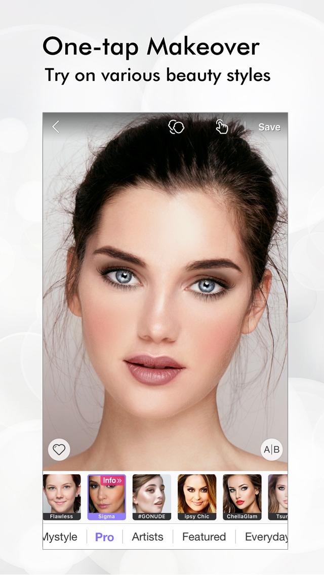 Perfect 365 - Makeup, Photo Editor Screenshot 1