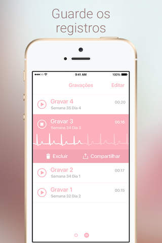 Baby Beat - Fetal Heartbeat Monitor screenshot 4