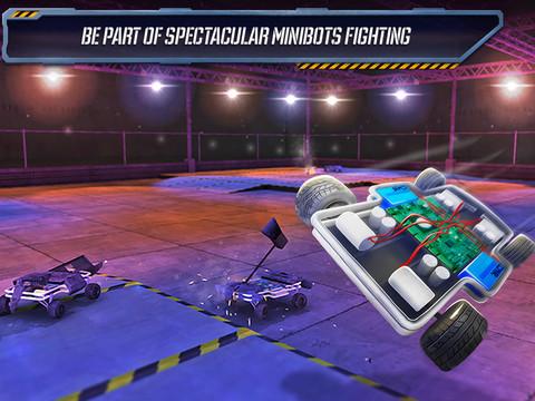 Robot Fighting 2 - Minibot Battle 3D Deluxe Screenshots