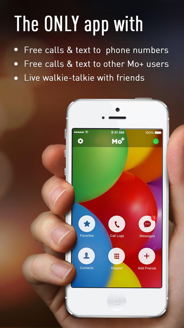 FREE Calls & Text by Mo plus screenshot 1