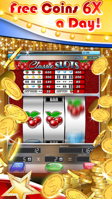 Screenshot 2 Slots: 3-Reel Slots Deluxe – All New, Real Vegas Casino Slot Machines