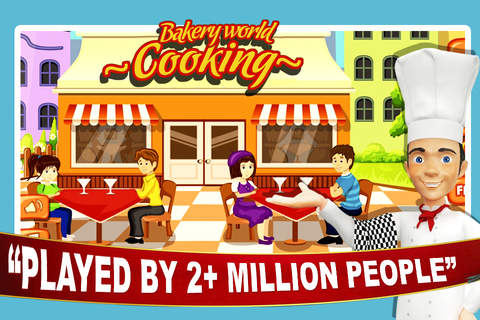 Bakery World Cooking Maker - Super-Star Chef Donut & Cup-Cake Kitchen Cafe Story Game screenshot 3