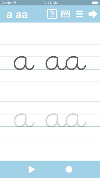 Cursive Writing App - abCursive 3 Screenshots