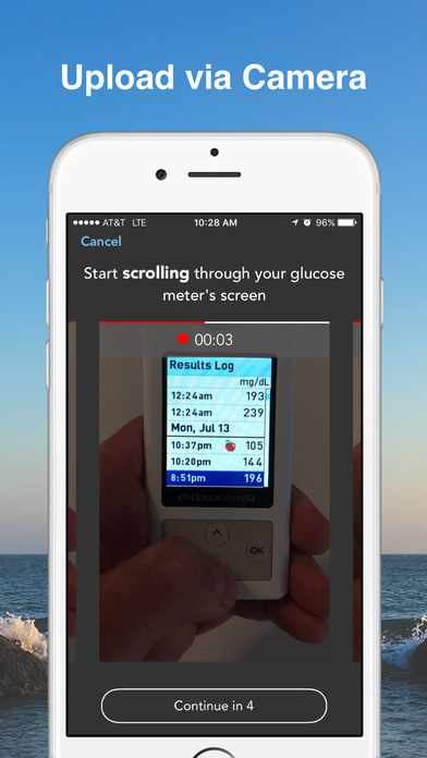 Diabetes Kit Blood Glucose Logbook - Burn Calories & Lower Sugar Levels with Advanced Pedometer Tracking screenshot