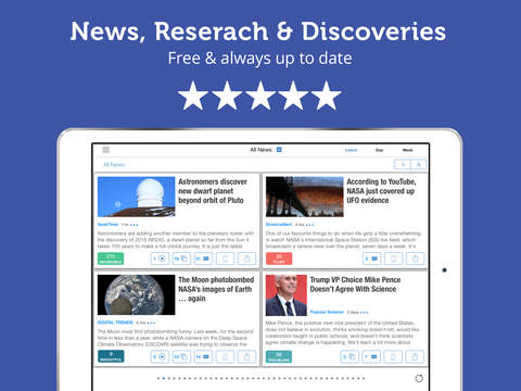 Science News & Discoveries screenshot