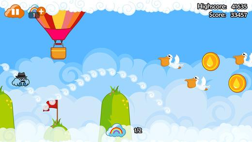 Henry the Cloud Screenshot