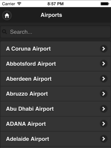 Flight Navigation - Live Flight Tracking & Status screenshot