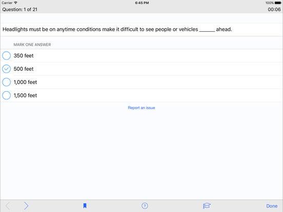 DMV Test Prep - Alabama iPad Screenshot 3
