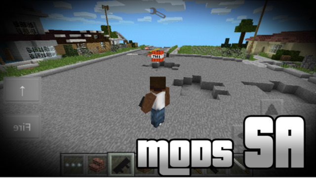 GTA SA EDITION MODS FOR MINECRAFT - The Best Pocket GTA SA Edition Wiki for MCPC Screenshots