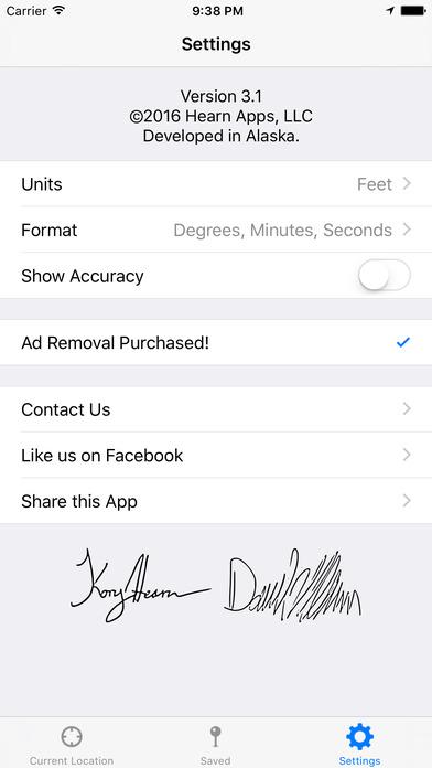 Current Altitude Free iPhone Screenshot 3