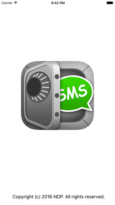 SMS Export Screenshots