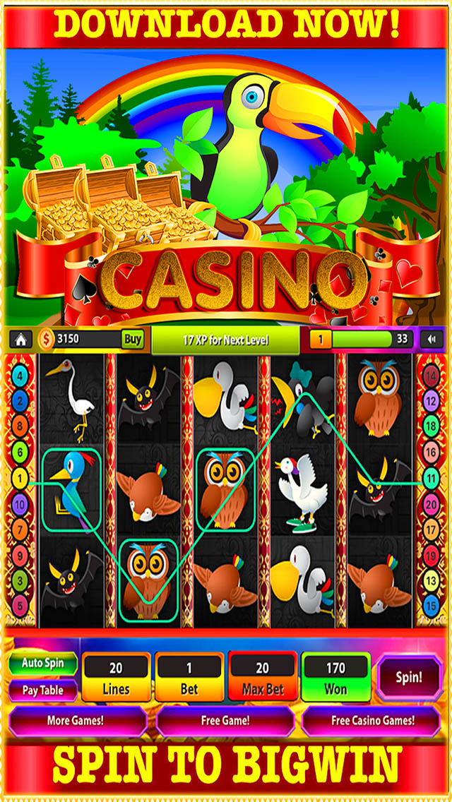 Birds of Pay Slot - Play Free Casino Slot Machine Games