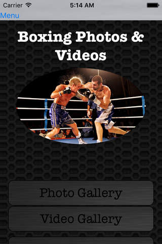 Boxing Photos and Video Galleries FREE screenshot 1