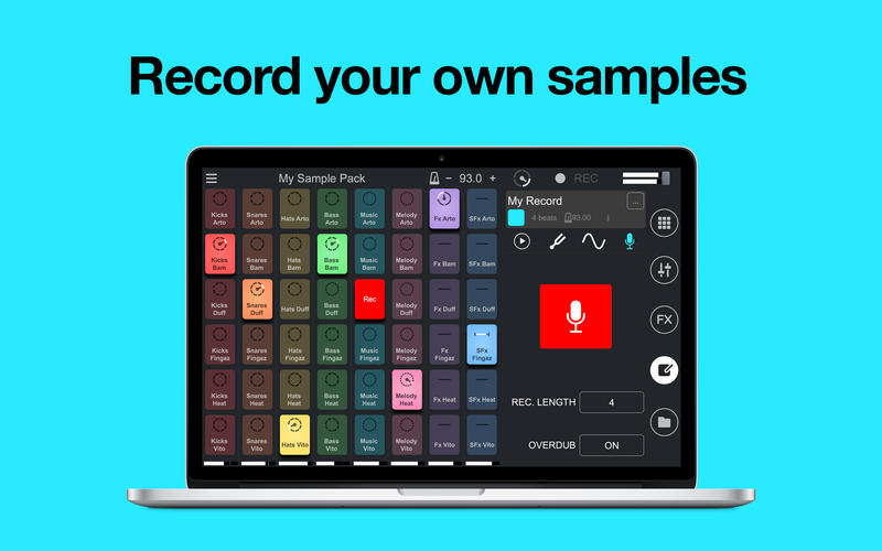 Remixlive - Remix loops with pads Screenshots