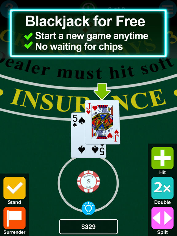BC Blackjack screenshot