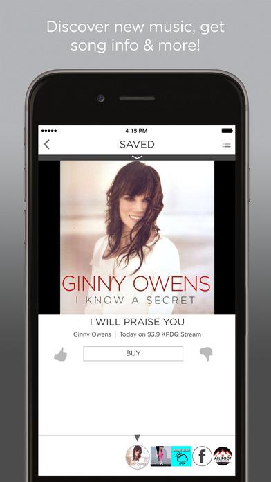 93.9 KPDQ-FM iPhone Screenshot 3