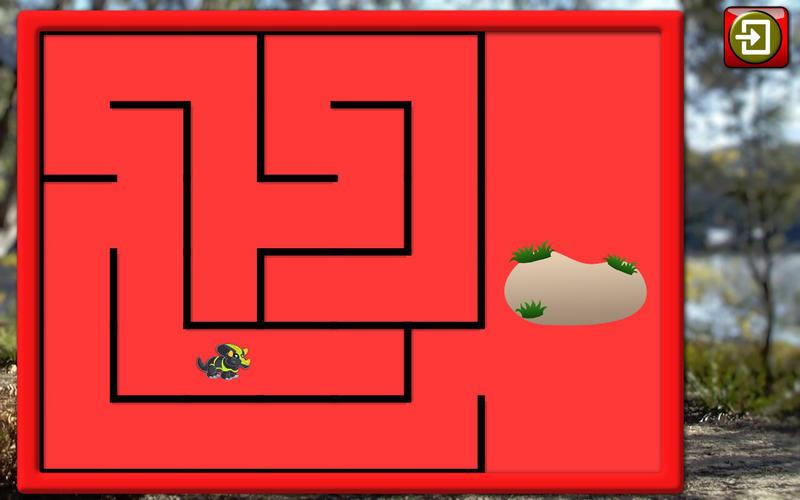 孩子们的恐龙雷克斯拼图-教育形状和匹配的儿童游戏 for Mac
