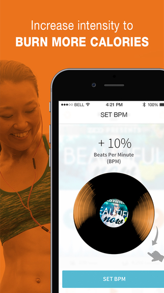 RockMyRun - Workout Music for Running, Walking, Fitness, the Gym and Exercise Screenshot