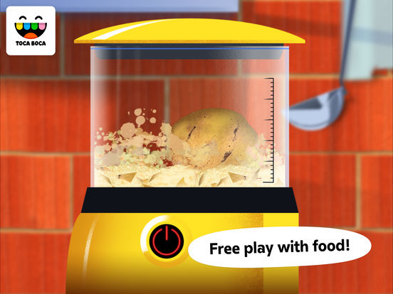 Screenshot #2 for Toca Kitchen