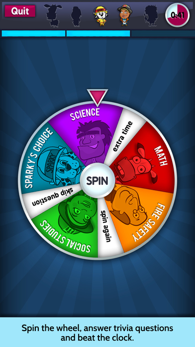 Sparky's Brain Busters Screenshot