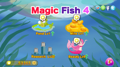Screenshot 1 Magic Fish 4 — deep dive travell under the sea