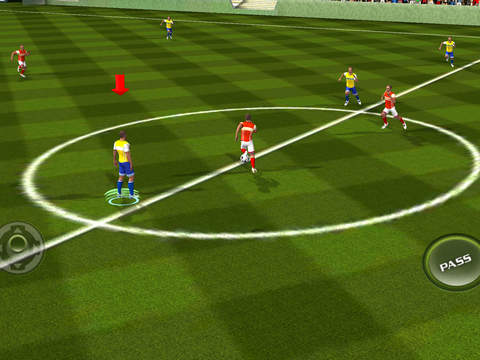 Футбол 2016 Real Soccer Скриншоты8