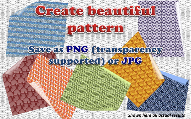 Pattern Generator screen