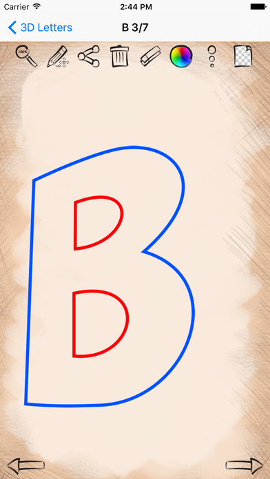 Learn To Draw 3d Letters Edition App Detail Reviews