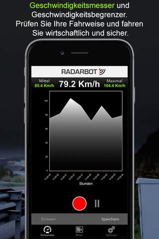 Radarbot Speed Camera Detector screenshot