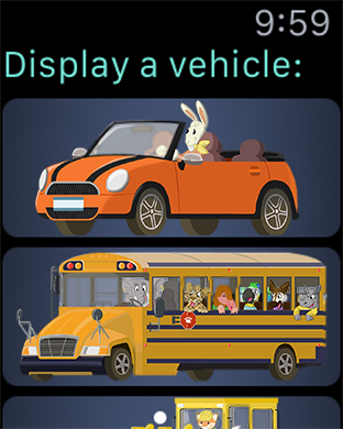 Big City Vehicles - Cars and Trucks for Kids Screenshots
