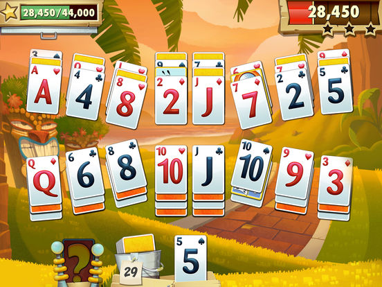 Screenshots of Fairway Solitaire Blast for iPad