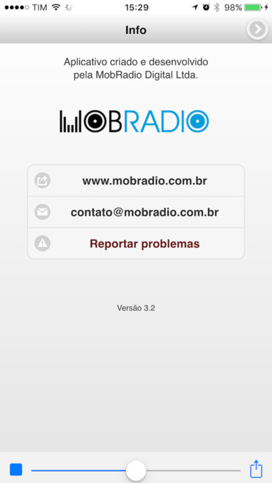 RADIOLINDA iPhone Screenshot 3