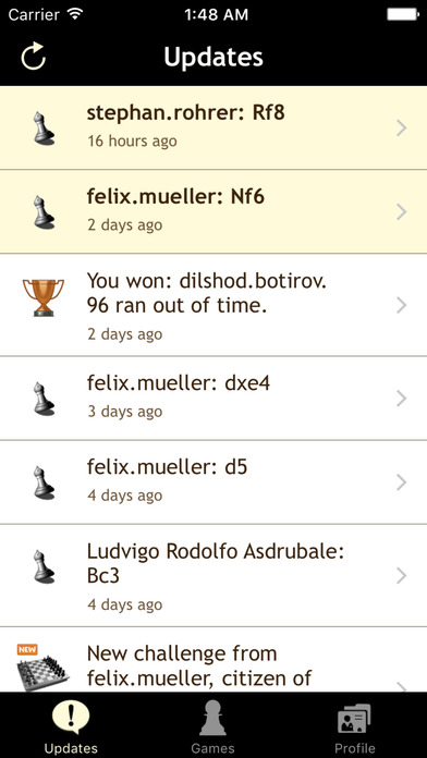 ChessNote iPhone Screenshot 5