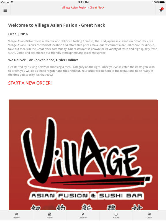 App shopper village asian fusion sushi food drink for Amaze asian fusion cuisine new york ny
