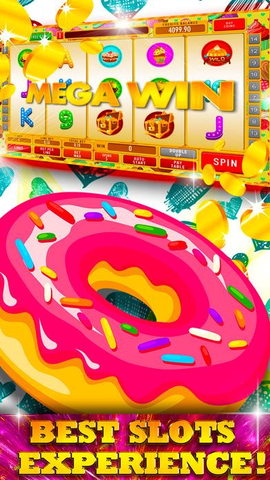 Screenshot 1 пончики и печенье слотов: казино бесплатно игры с лучшими побед лотереи
