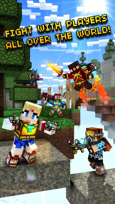 Screenshots of Pixel Gun 3D for iPhone