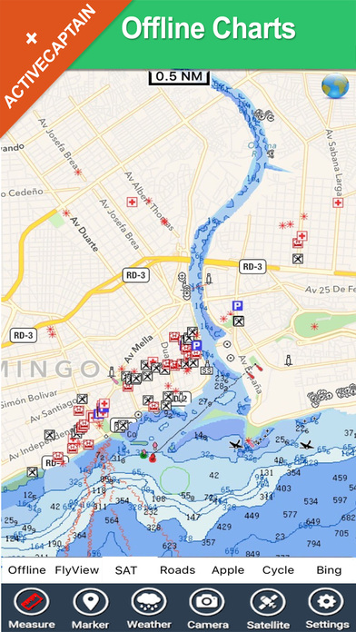 Dominican Republic - GPS Map Navigator iPhone Screenshot 2
