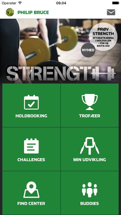 Fitness World iPhone Screenshot 1