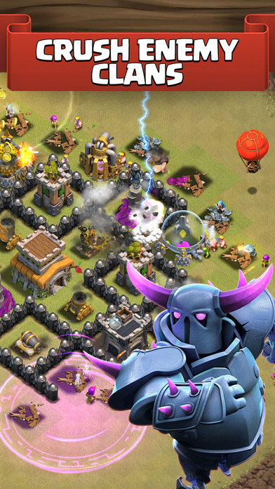 Screenshots of Clash of Clans for iPhone