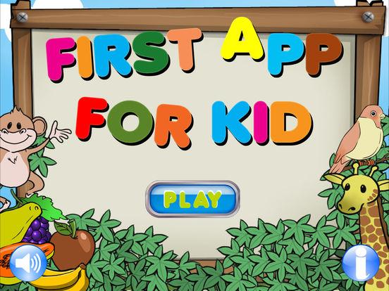 First App for Kid HD - English Indonesia iPad Screenshot 1