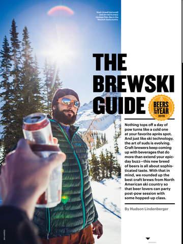 Skiing Mag screenshot