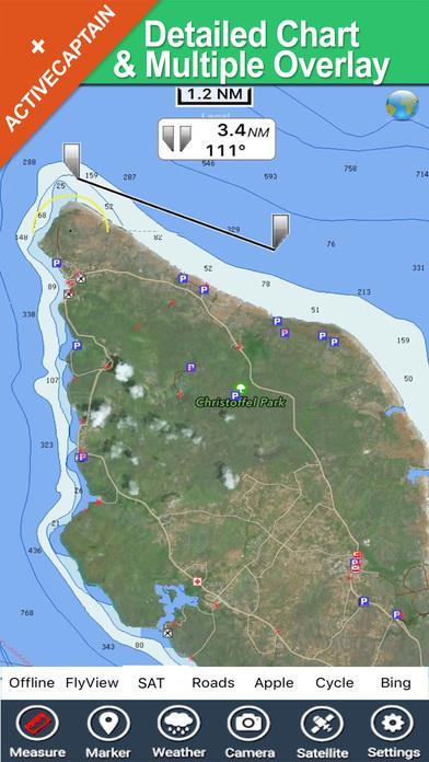 Curacao HD - Travel Map Navigator iPhone Screenshot 1