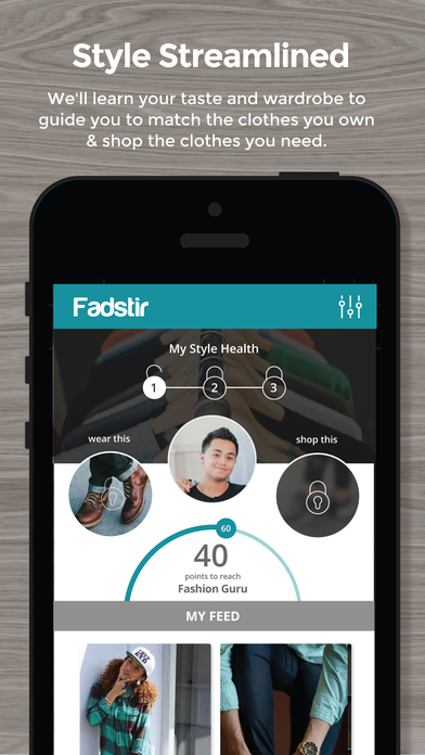 Fadstir - Personal Stylist and Fashion App screenshot