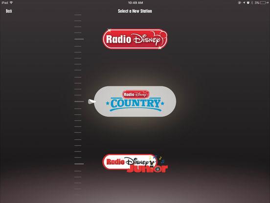 Radio Disney iPad Screenshot 2