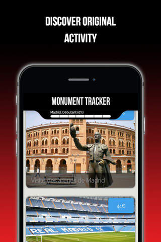 Madrid Guide voyage Monument Tracker carte offline screenshot 3