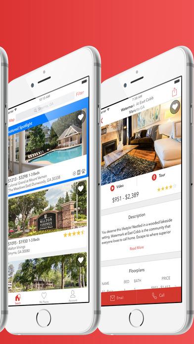 Apartments iPhone Screenshot 2