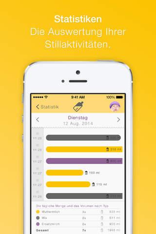 MyMedela screenshot 3